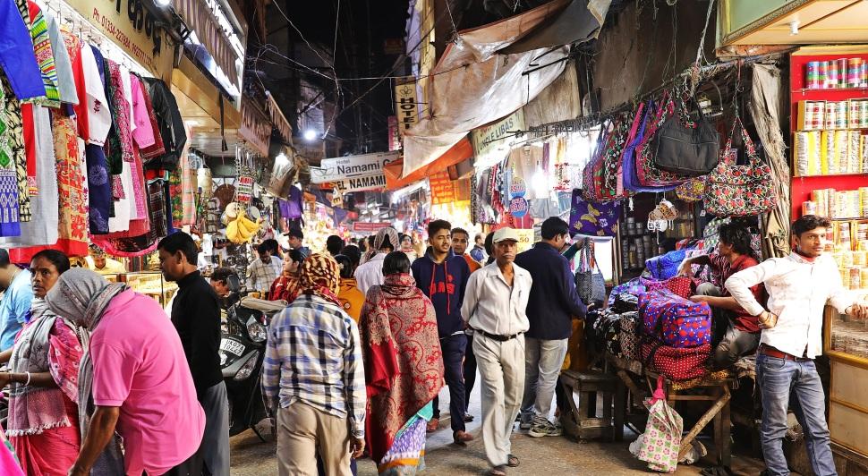 Market, Haridwar