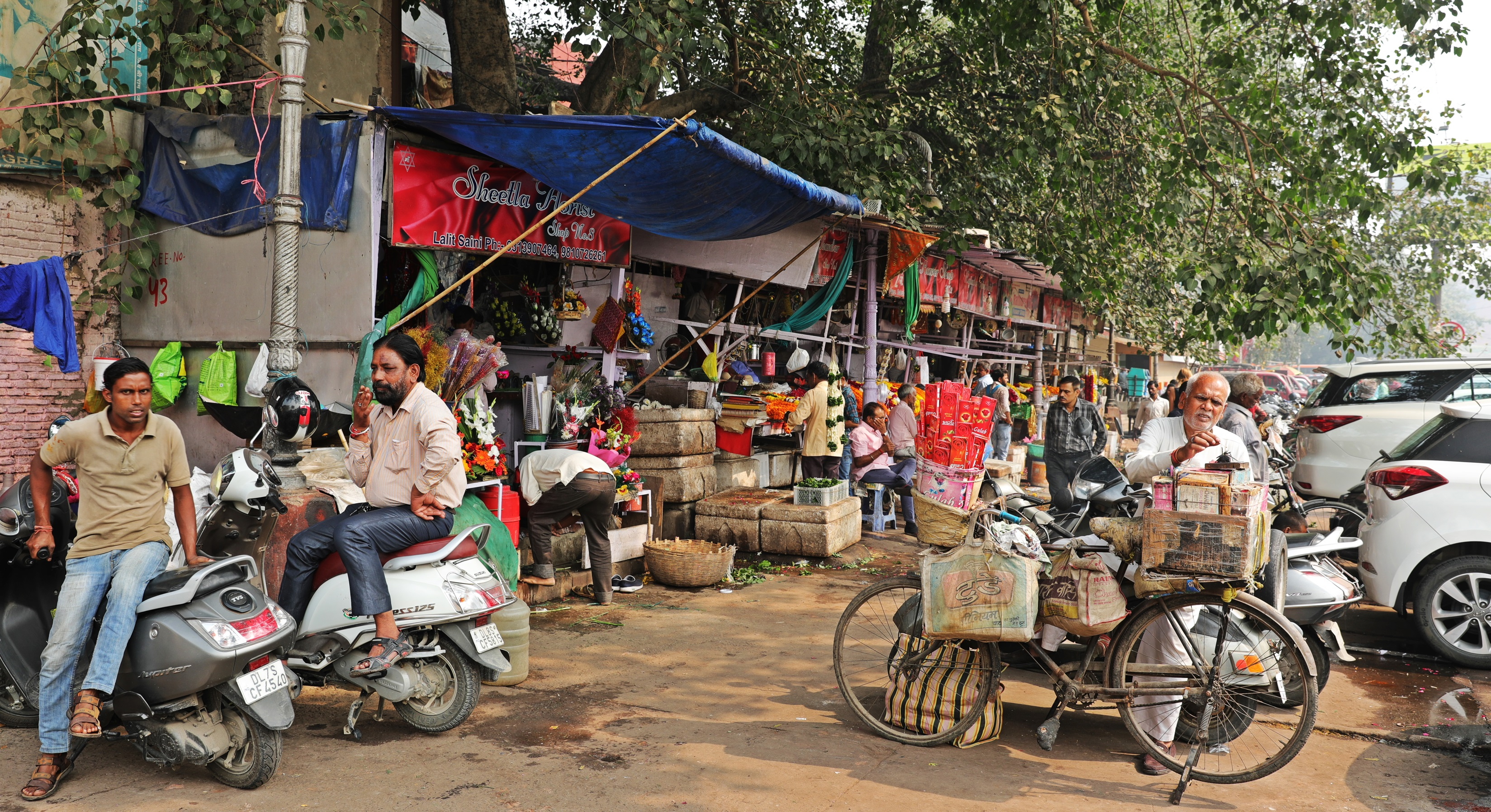 Food stalls, Old Delhi