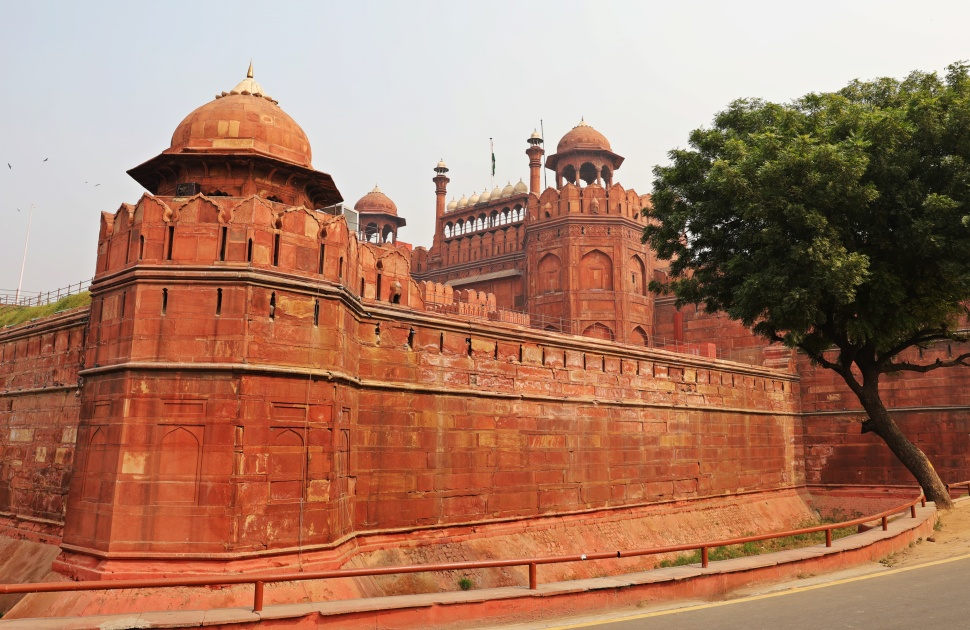 Outer wall, Red Fort, Delhi