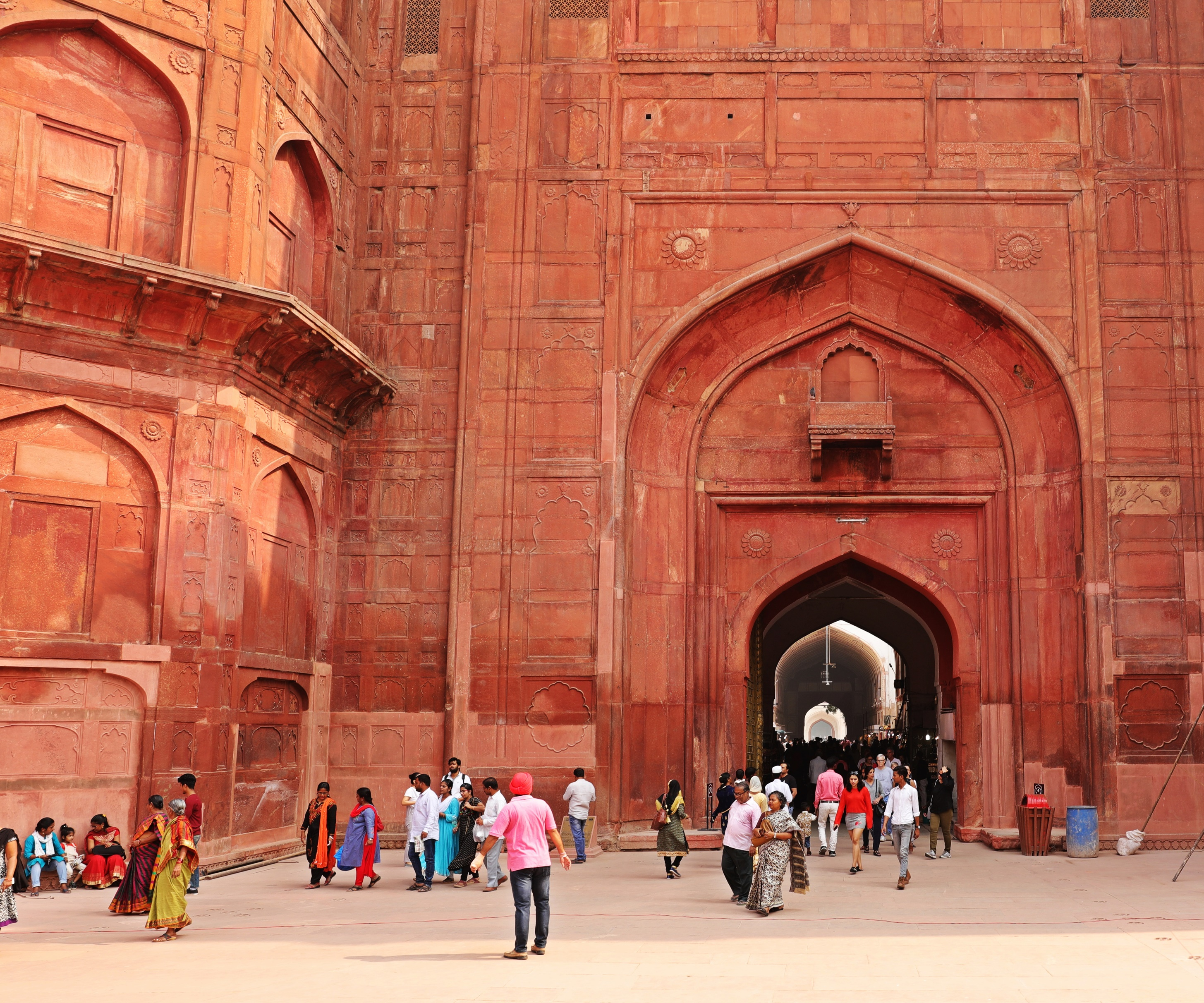 Lahore Gate, Red Fort, Delhi