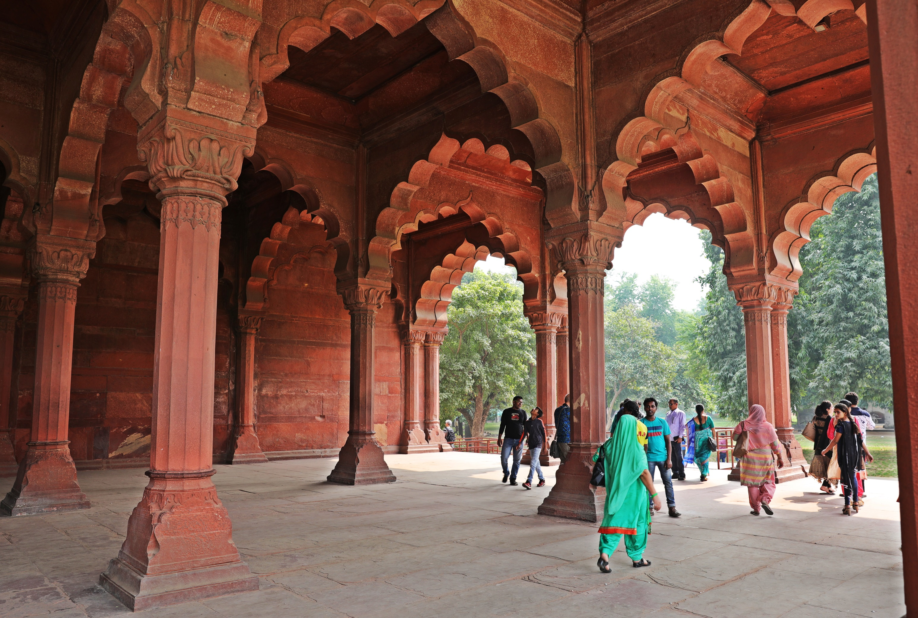 Hall of Public Audience, Red Fort, Delhi