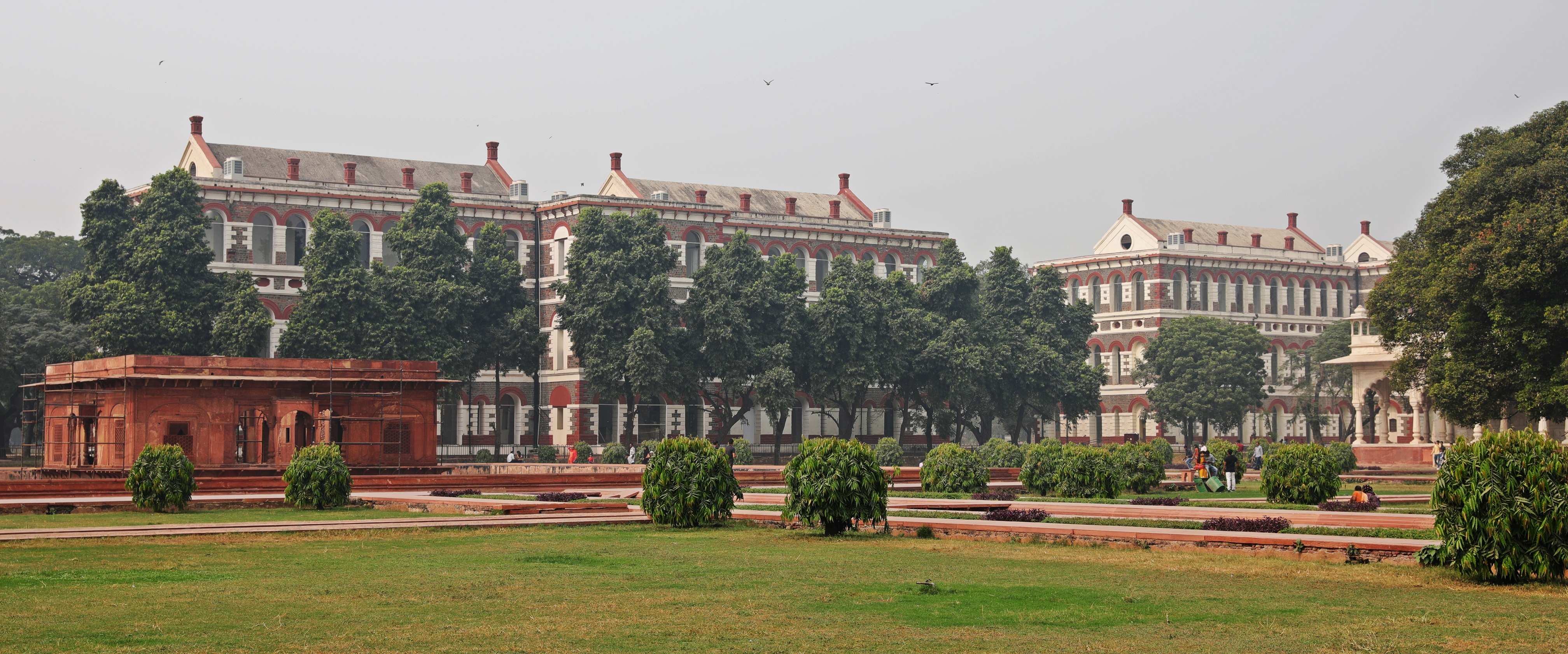 Grounds of Red Fort, Delhi