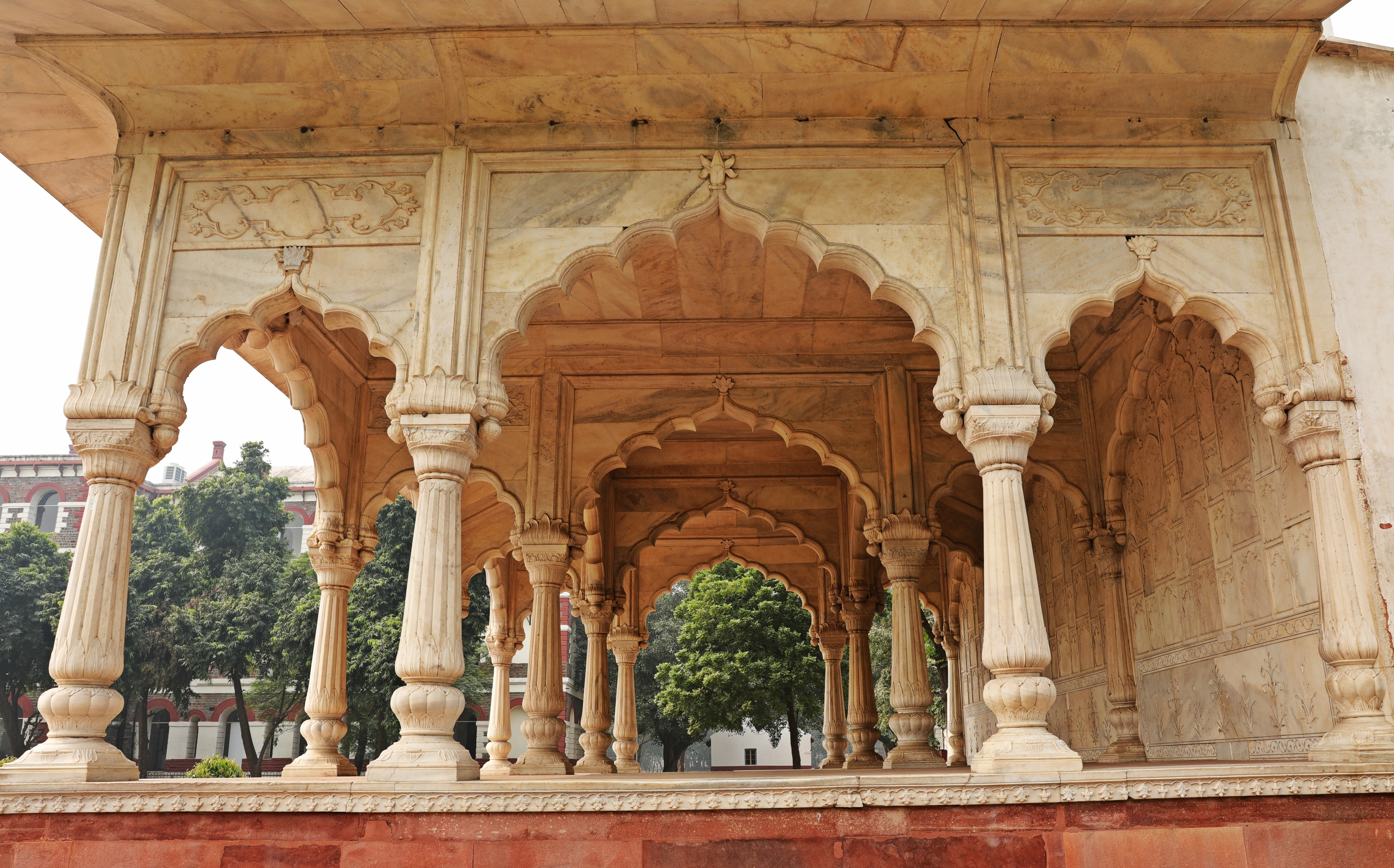 Hall of Private Audience, Red Fort, Delhi