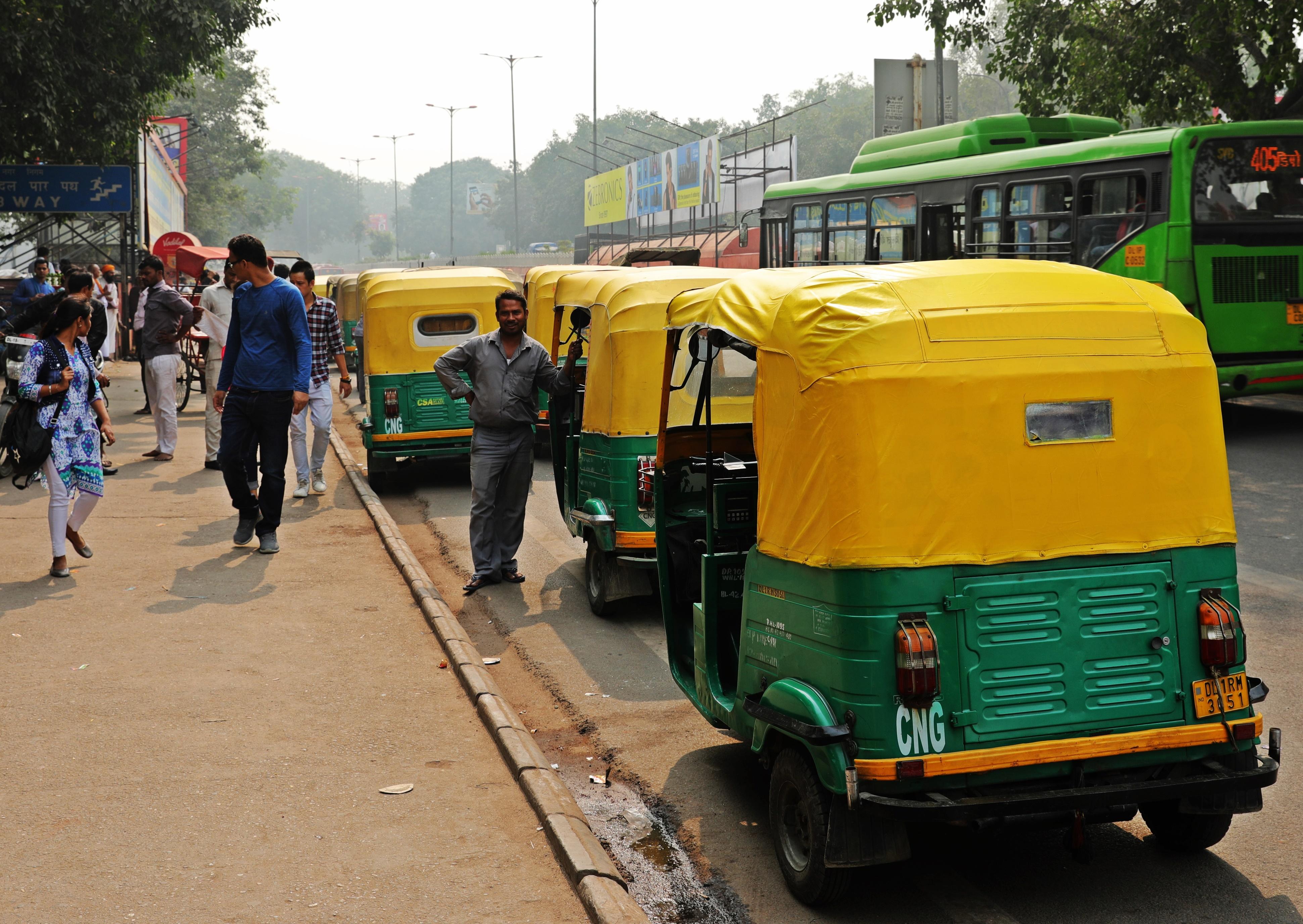 Auto Rickshaws, Delhi