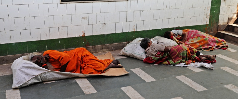 Homeless in Delhi