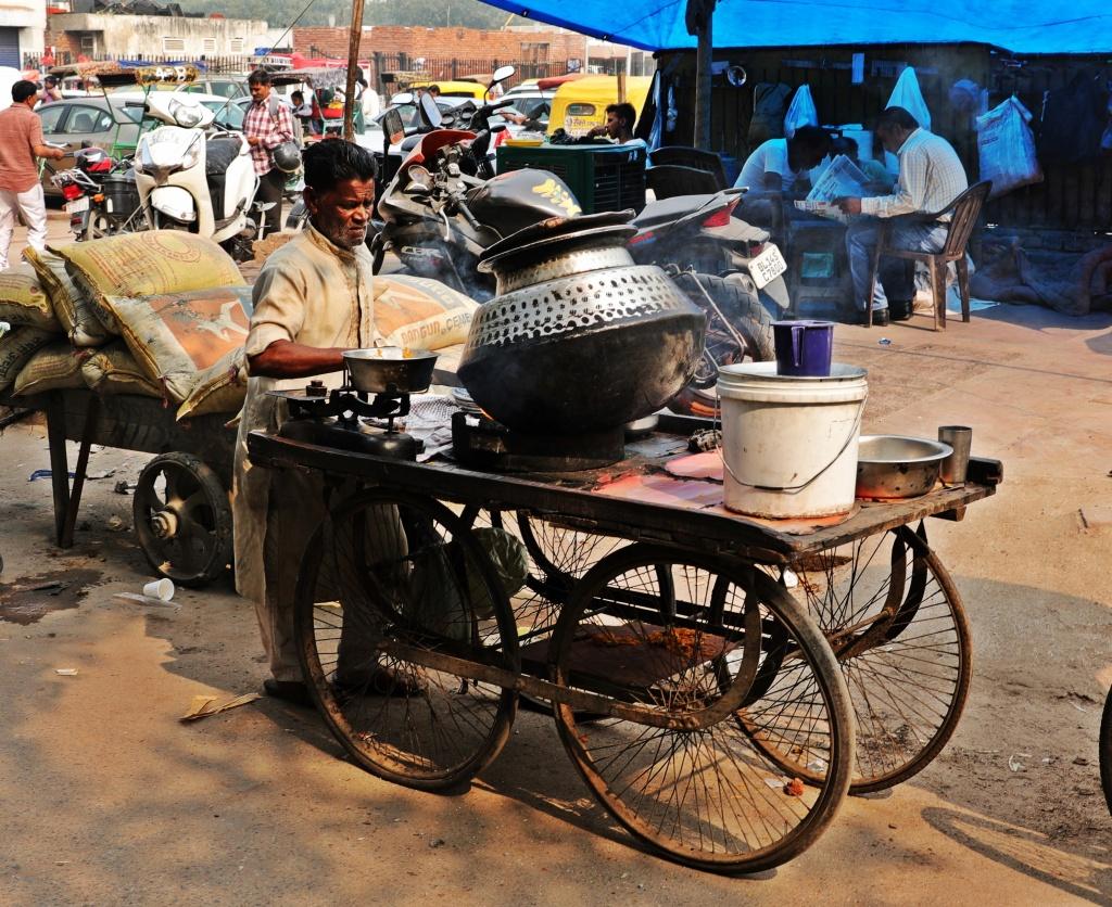 Street kitchen, Old Delhi