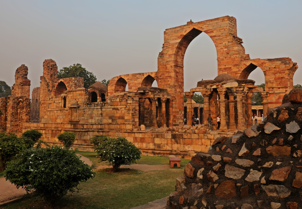 Ruins in Qutab Minar Complex, Delhi