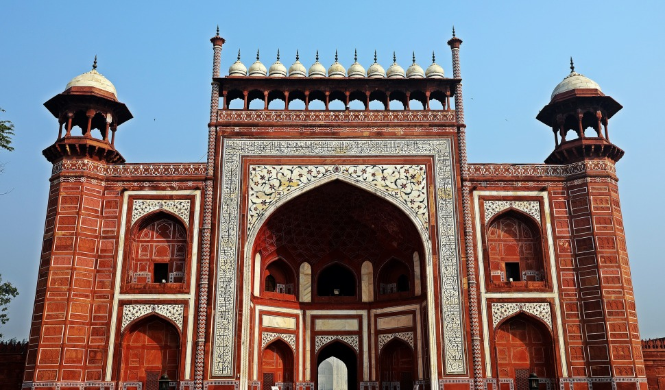 Great Gate, Taj Mahal