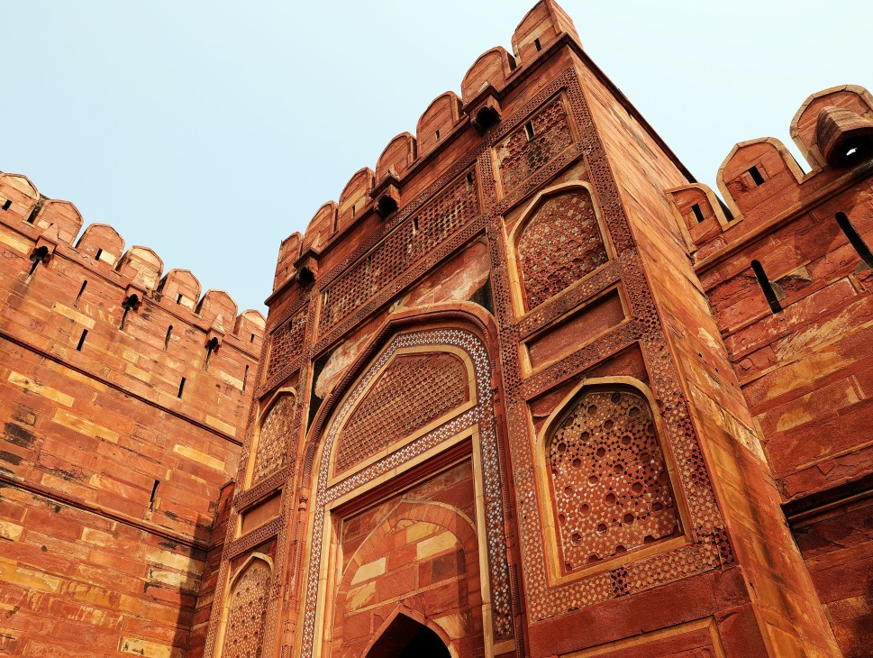 Entrance Gate to Agra Fort