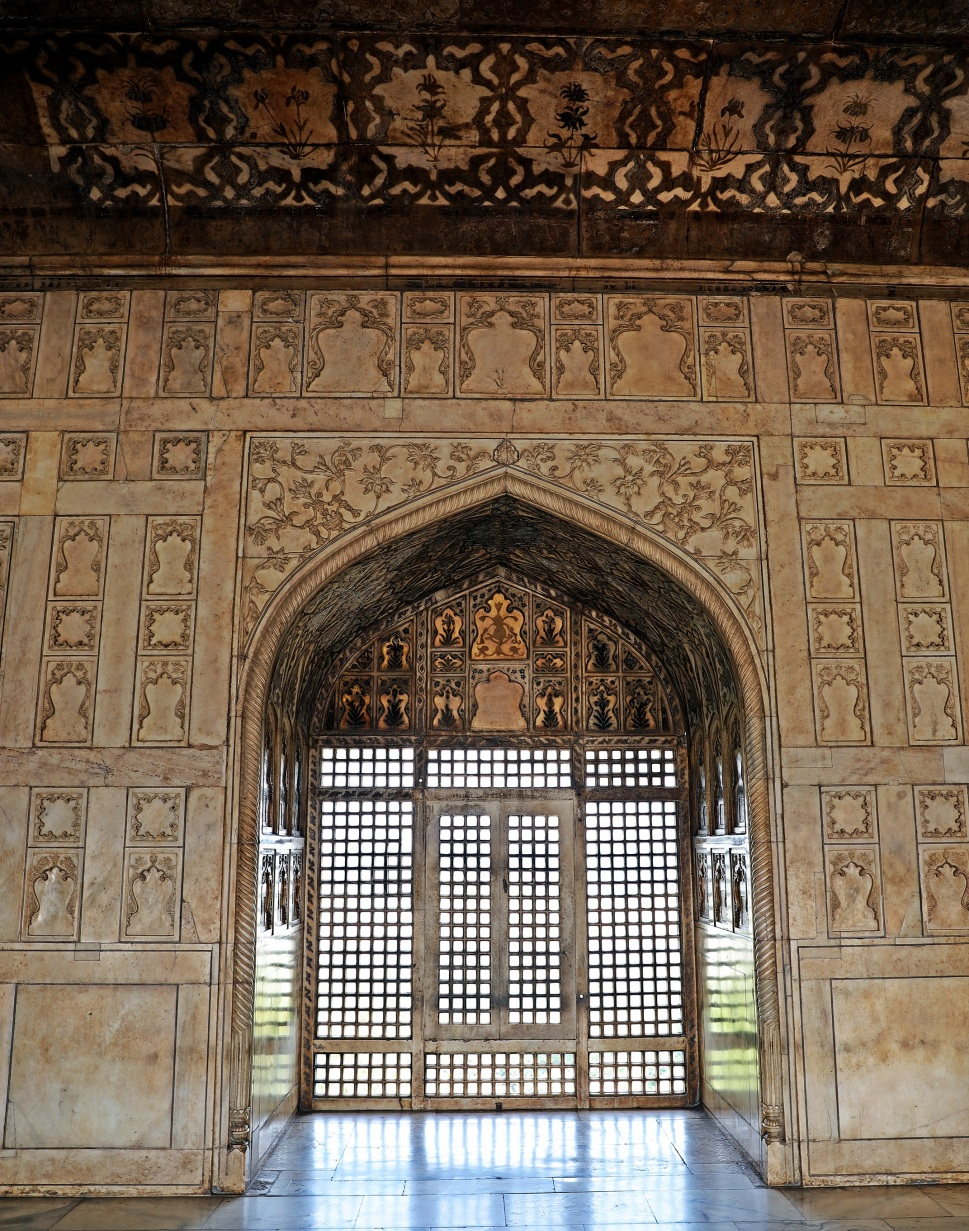 Palace Interior at Agra Fort