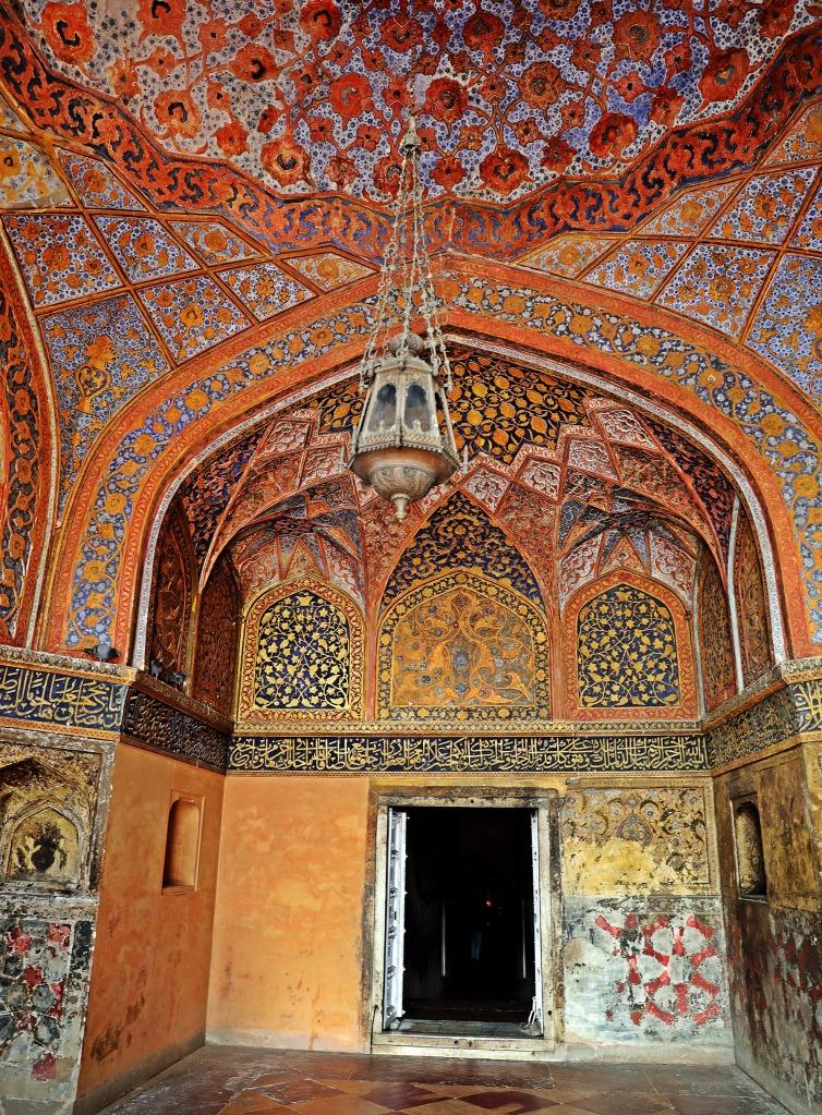 Inside Akbar's Mausoleum
