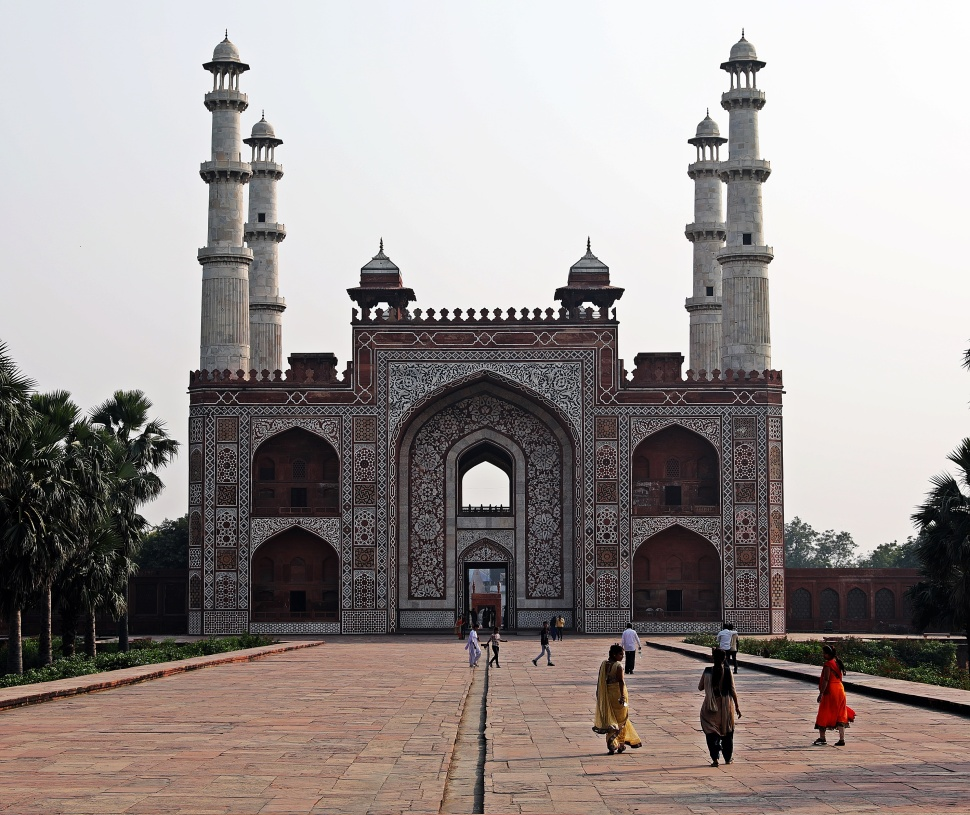 Entrance Gate to Akbar's Mausoleum