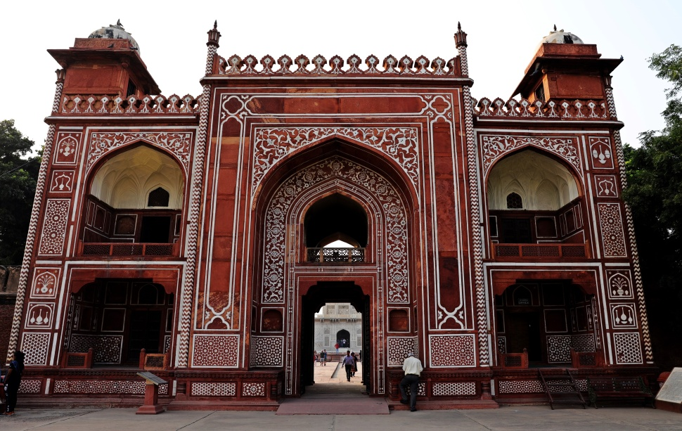 Entrance Gate to Baby Taj, Agra