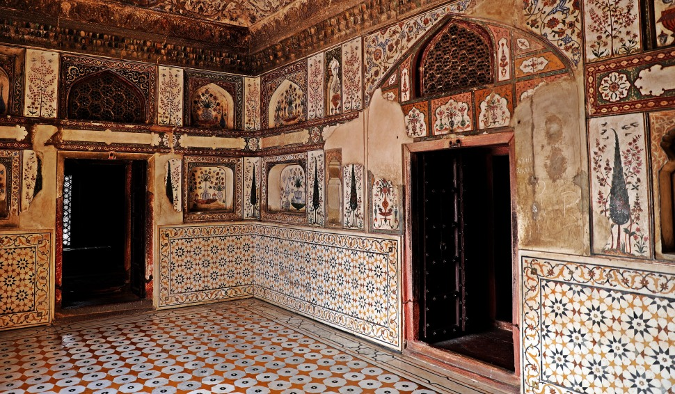 Interior of Baby Taj, Agra