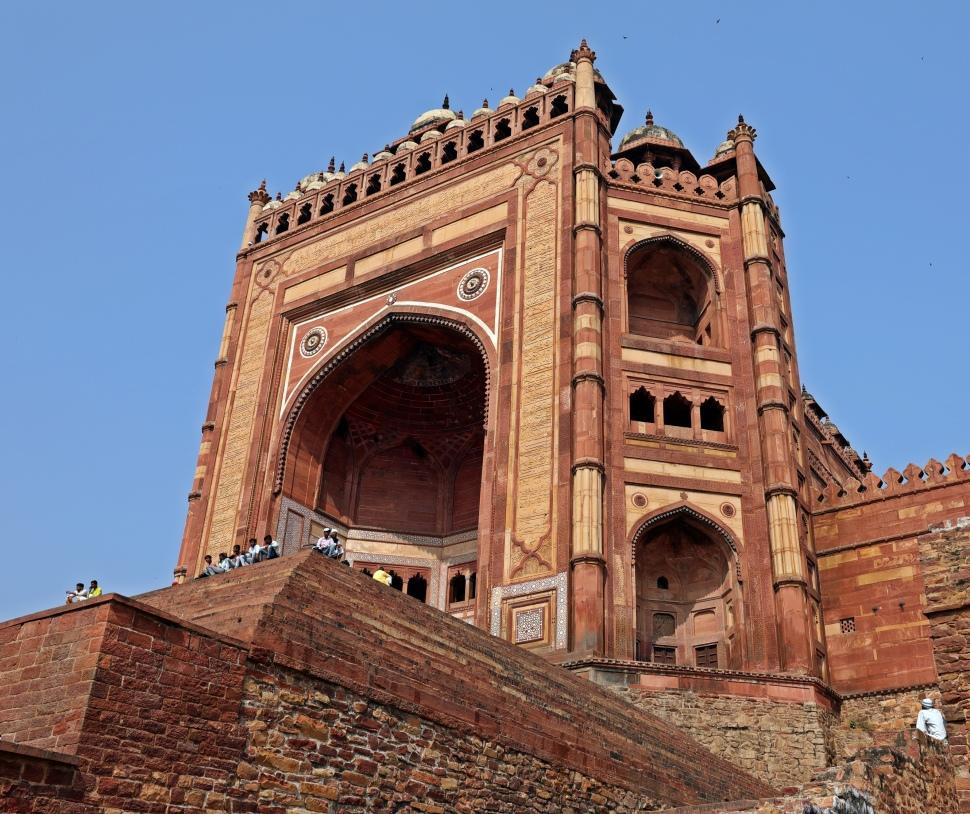 Entrance Gate, Jama Masjid, Fatehpur Sikri