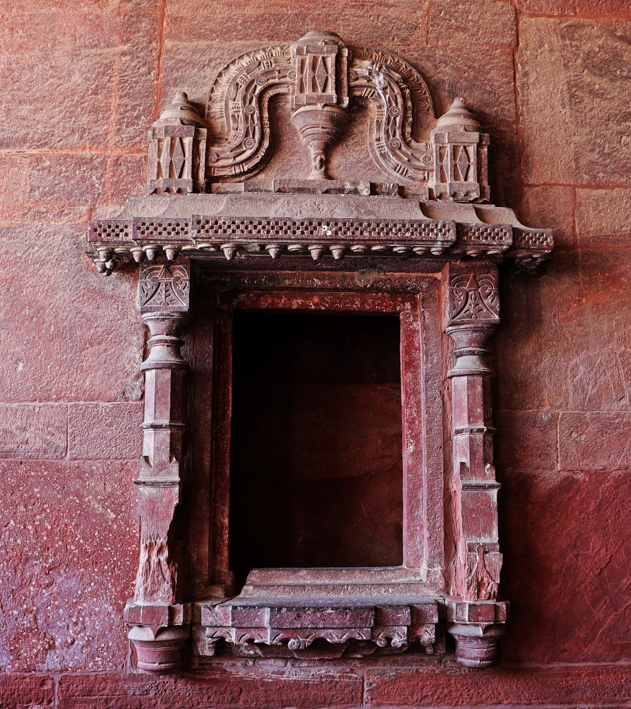 Window, Fatehpur Sikri