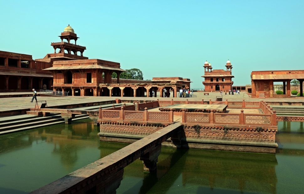 Ornamental Pool, Fatehpur Sikri