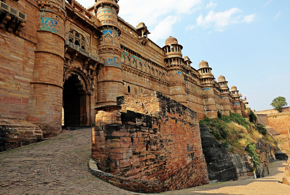 Entry Gate near Man Singh Palace, Gwalior Fort
