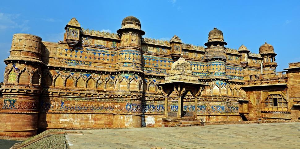 Man Singh Palace, Gwalior Fort