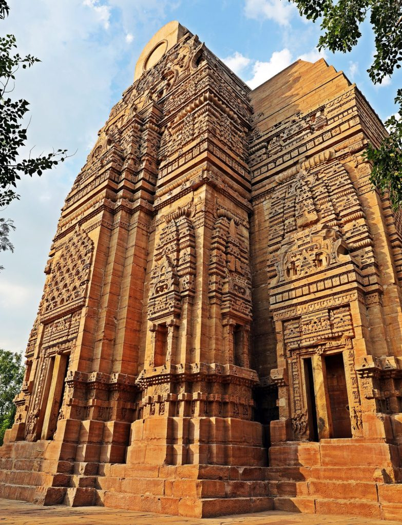 Teli Ka Mandir with wagon-style roof, Gwalior Fort