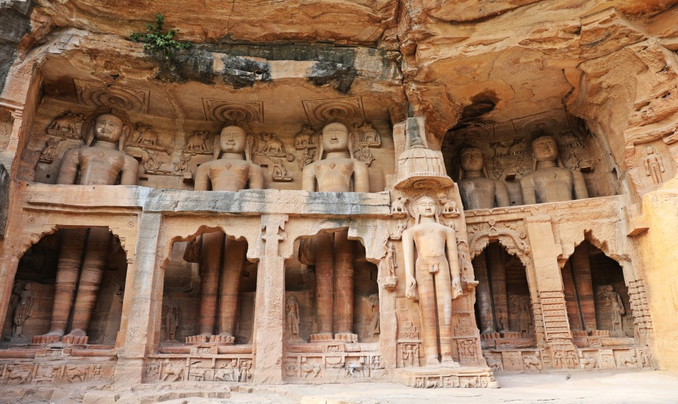 Jain carvings, Gwalior