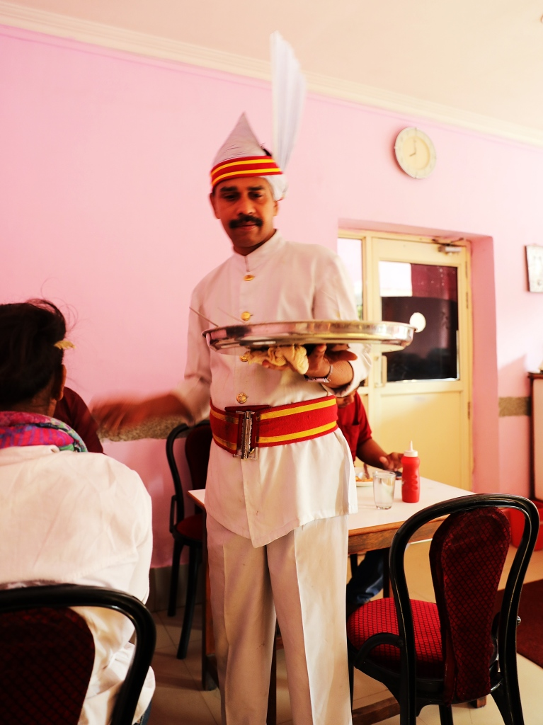 Waiter, Indian Coffee House