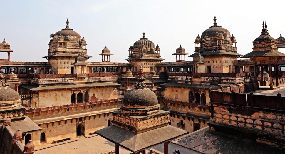 Terraces, Jehangir Mahal, Orchha