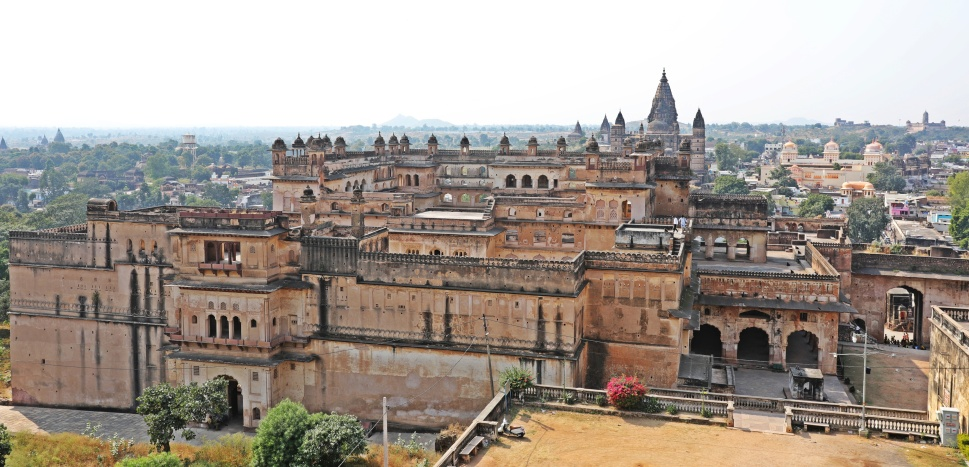 View of Orchha from Jehangir Mahal