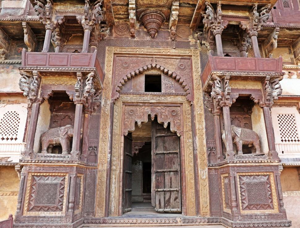 Elephant Gate, Jehangir Mahal