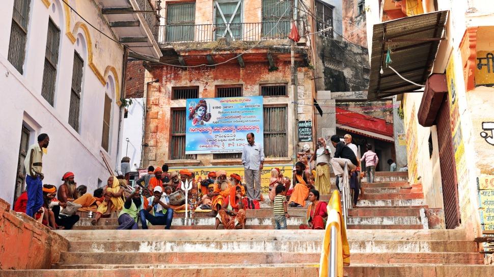 Sadhus, Varanasi