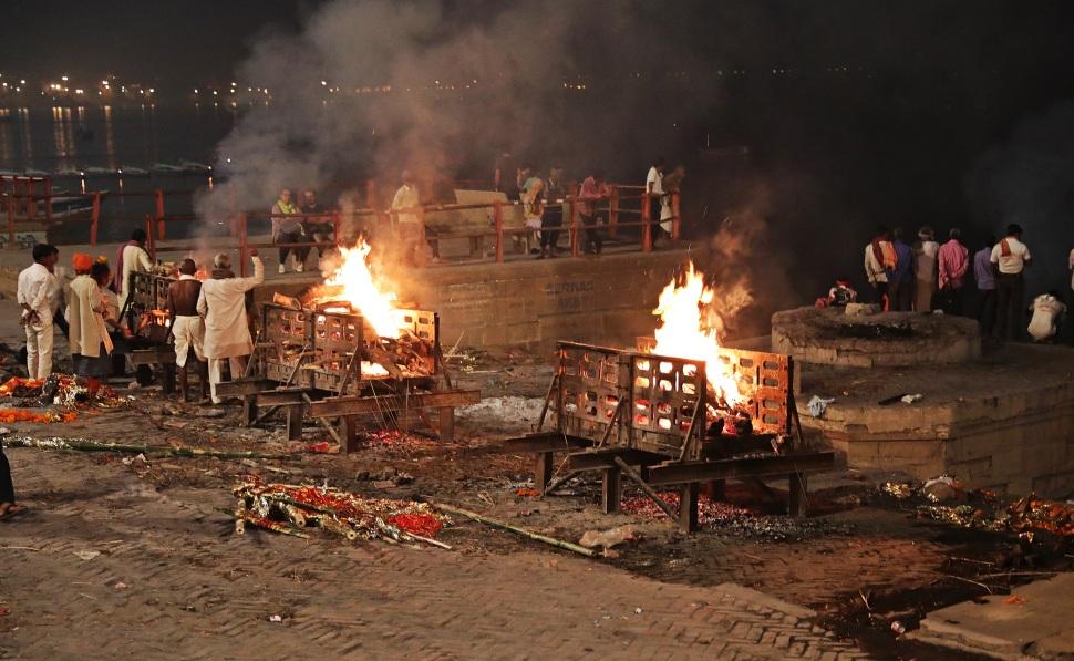 Cremation, Varanasi
