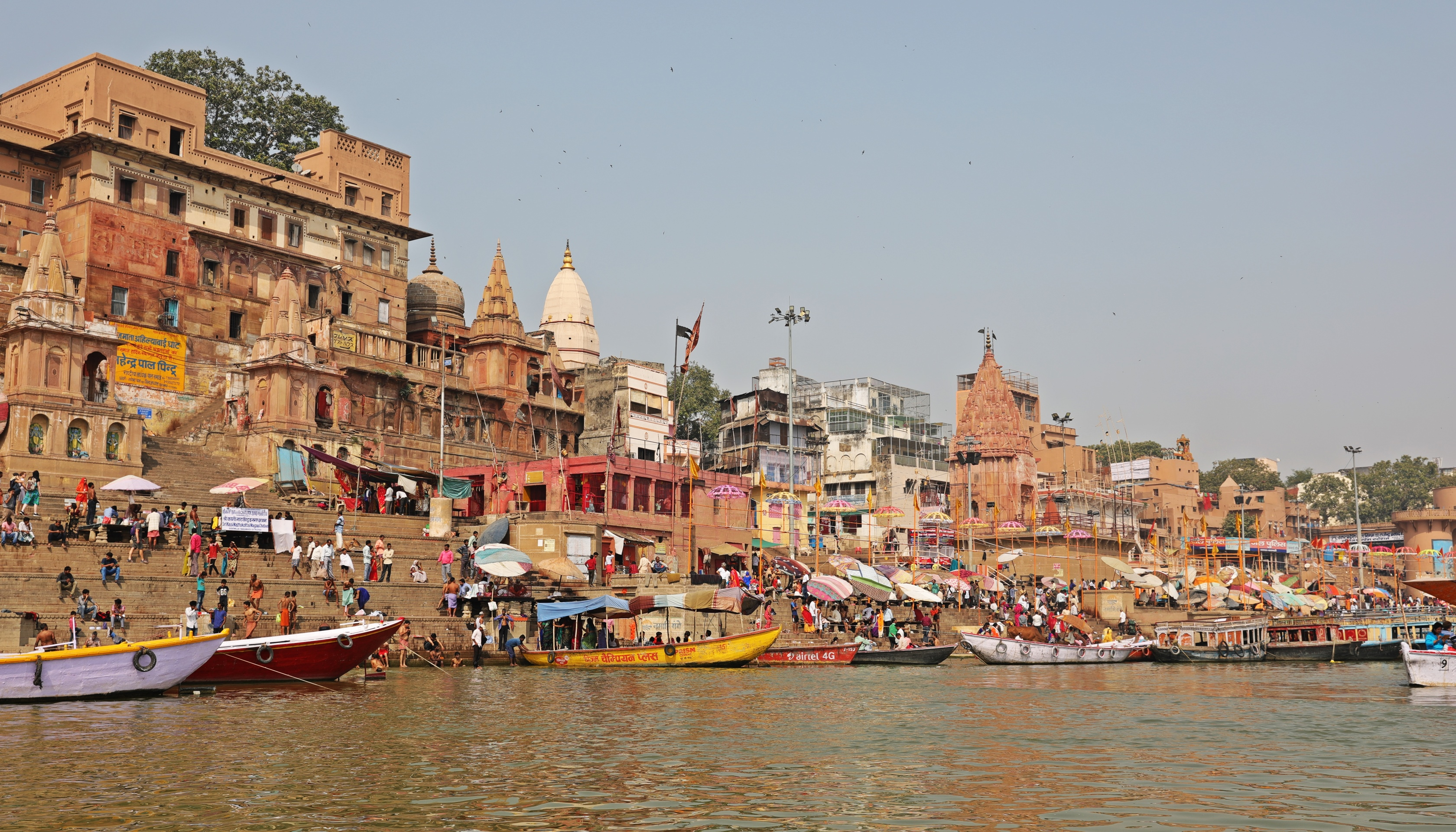 Ghats on the Ganges, Varanasi