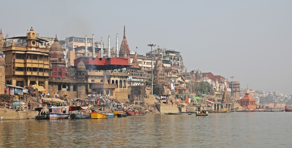 Cremation Ghat in Varanasi
