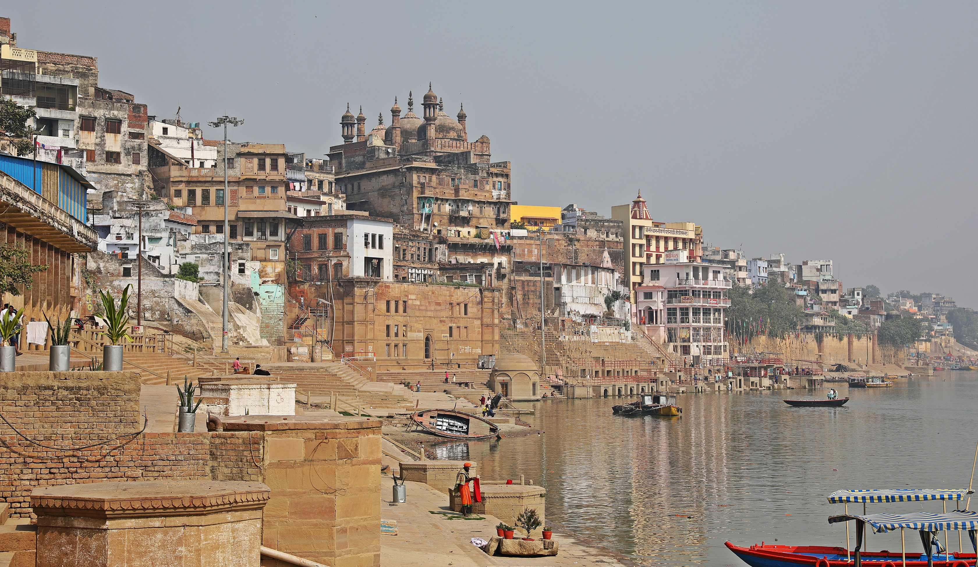 Ghats along the Ganges, Varanasi