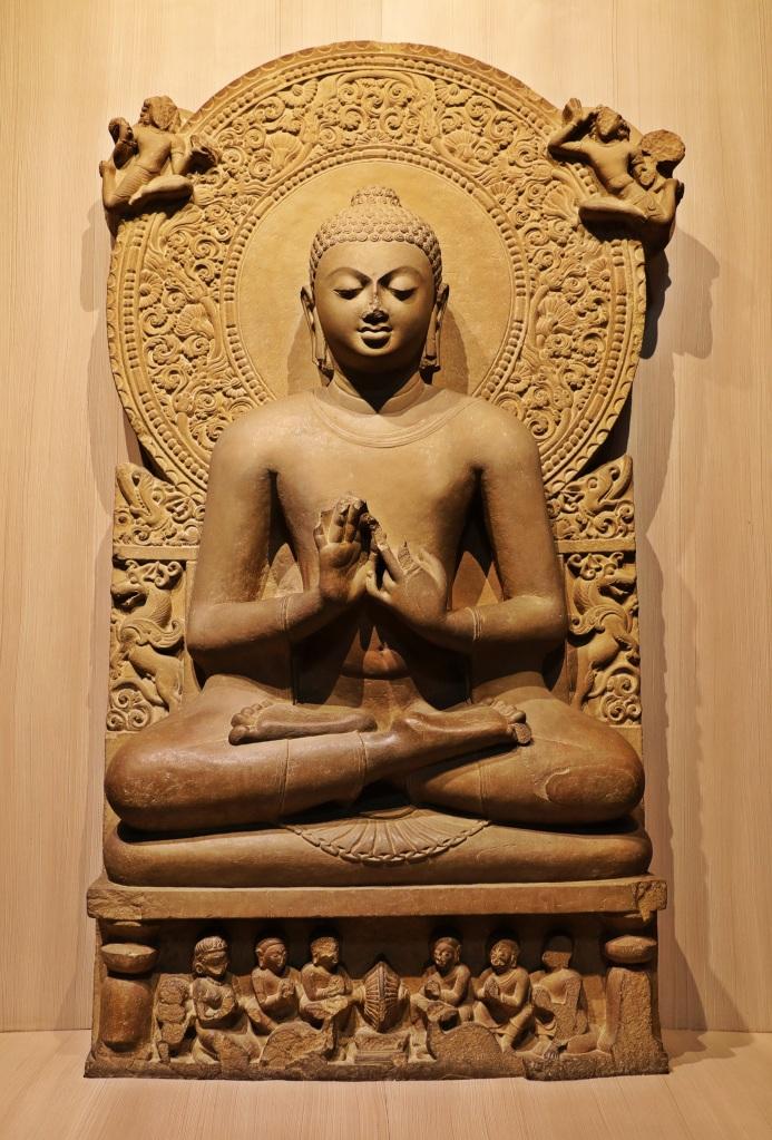 Buddha statue, Sarnath