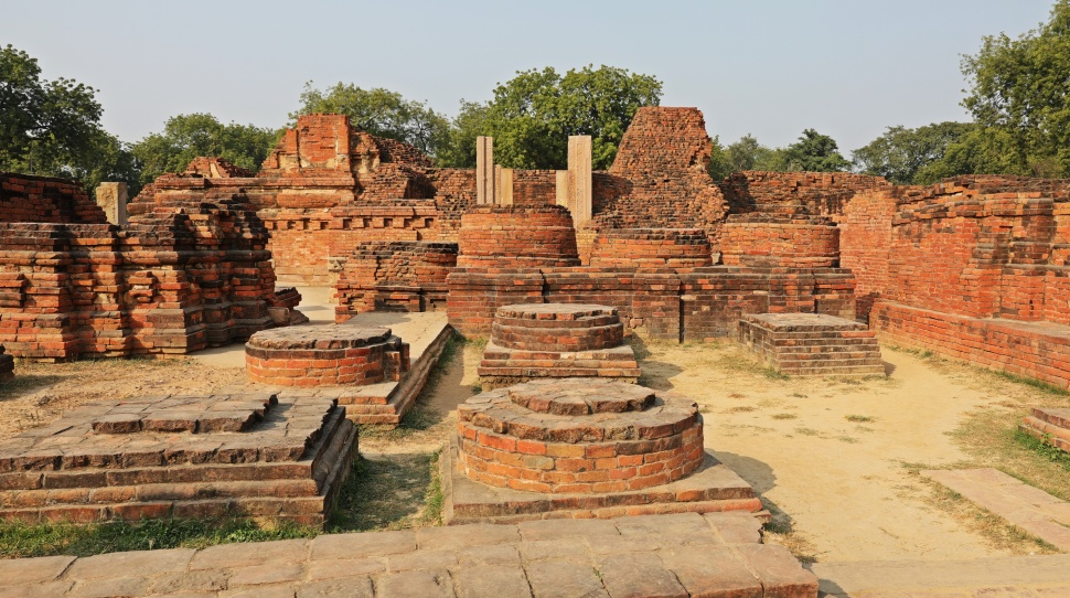 Monastery ruins, Sarnath