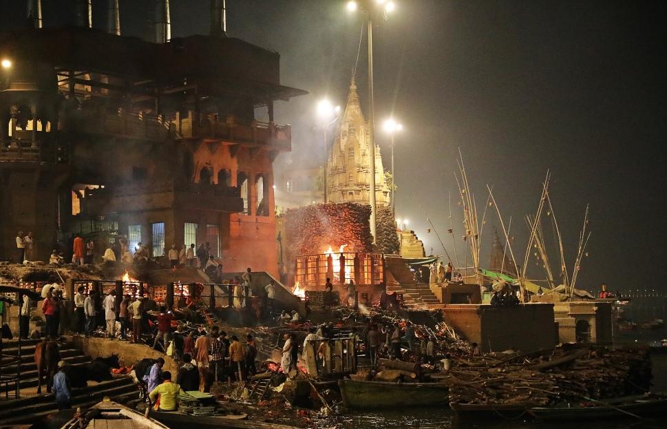 Cremation Ghat, Varanasi