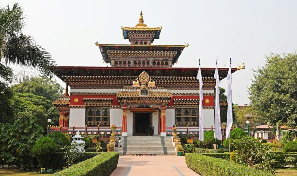 Bhutan monastery, Bodhgaya