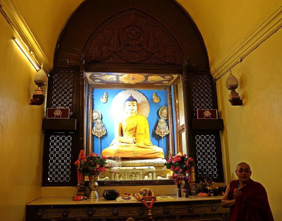 Inside Mayabhodi Temple, Bodhgaya