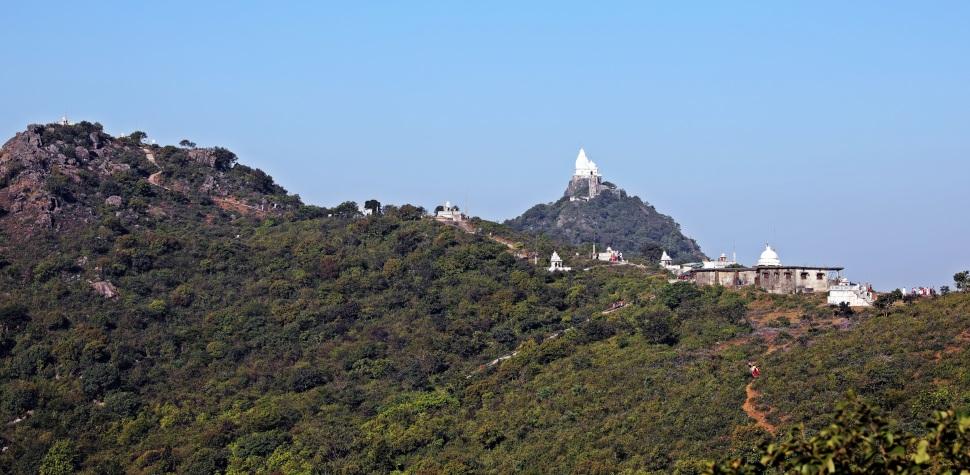 Jain temples, Parasnath Hills