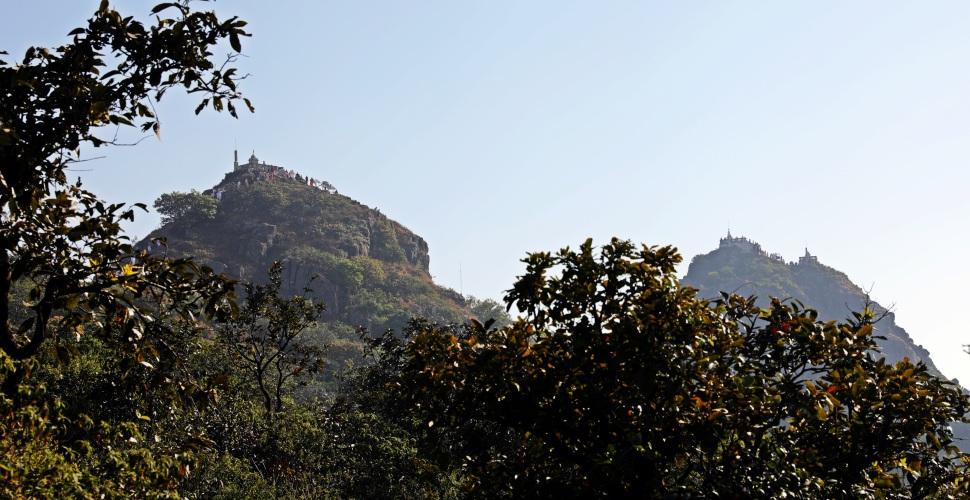 Hilltop temples, Parasnath Hills