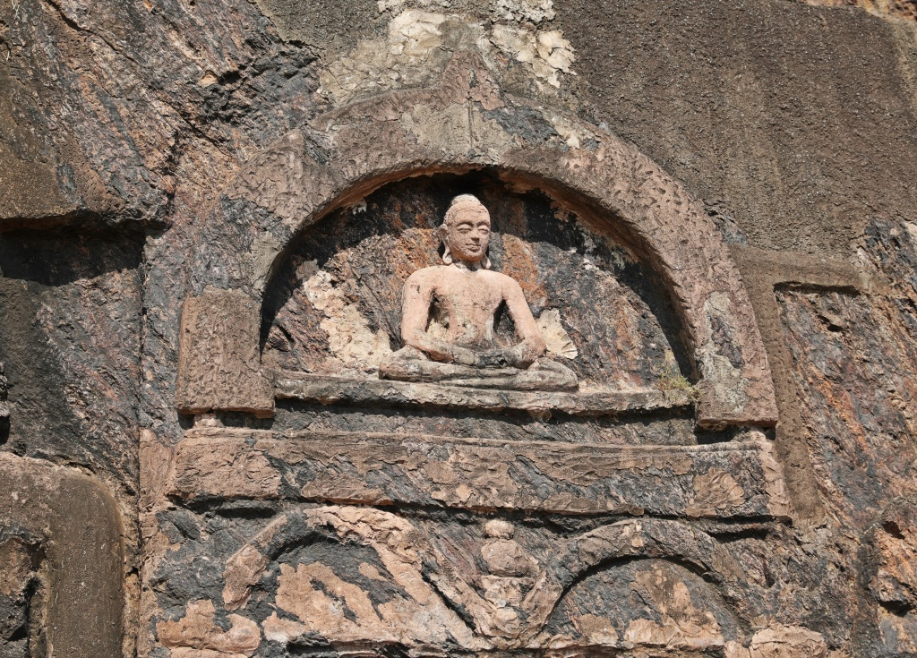 Buddhist carvings at Bojjannakonda