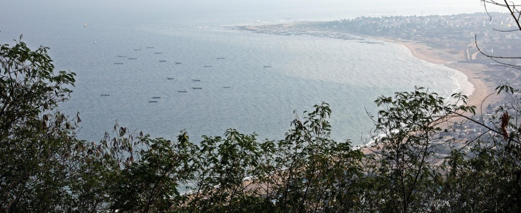 View of Vizag from Kailasagiri Hill