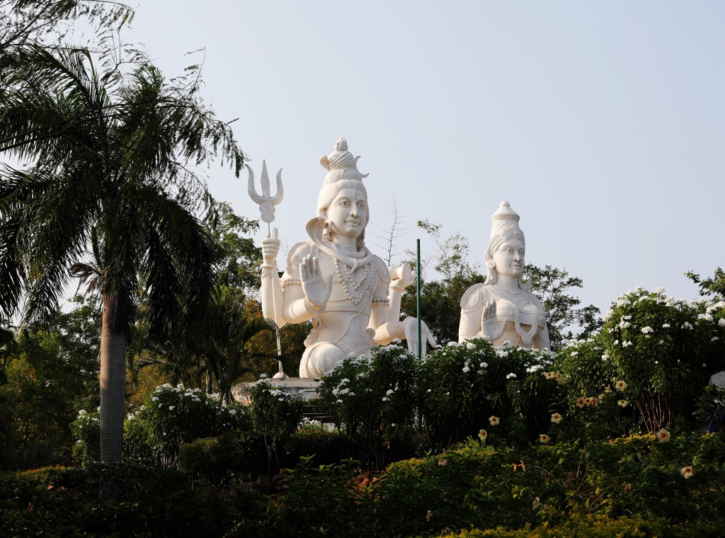 Shiva and Parvati, Kailasagiri Hill