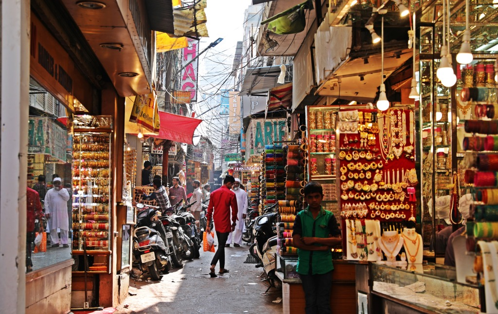 Market, Old Town, Hyderabad