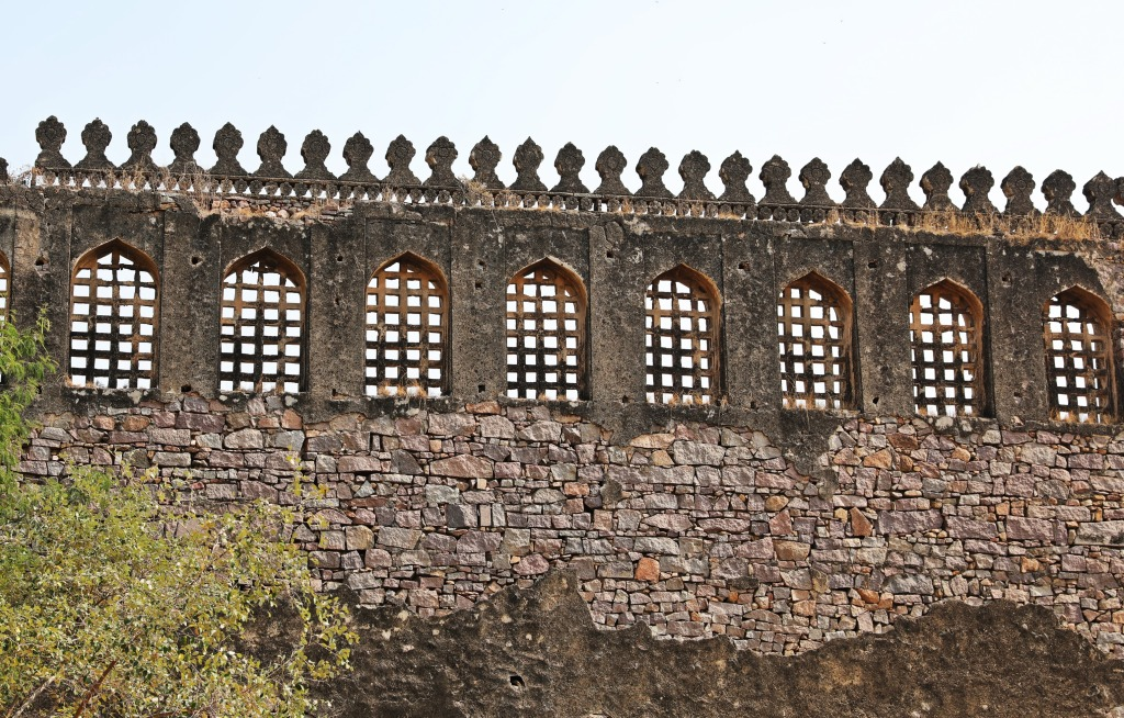 Outer wall, Golkonda Fort , Hyderabad