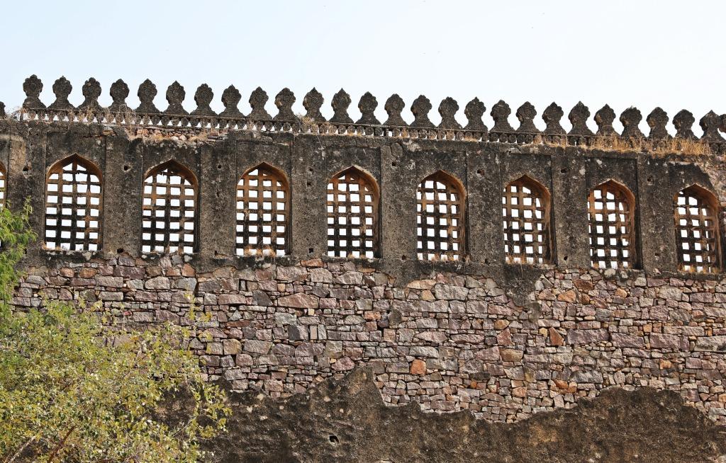 Outer wall, Golkonda Fort , Hyderabad
