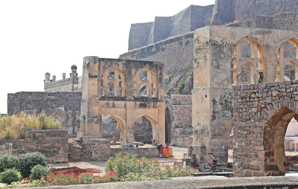 Golkonda Fort , Hyderabad