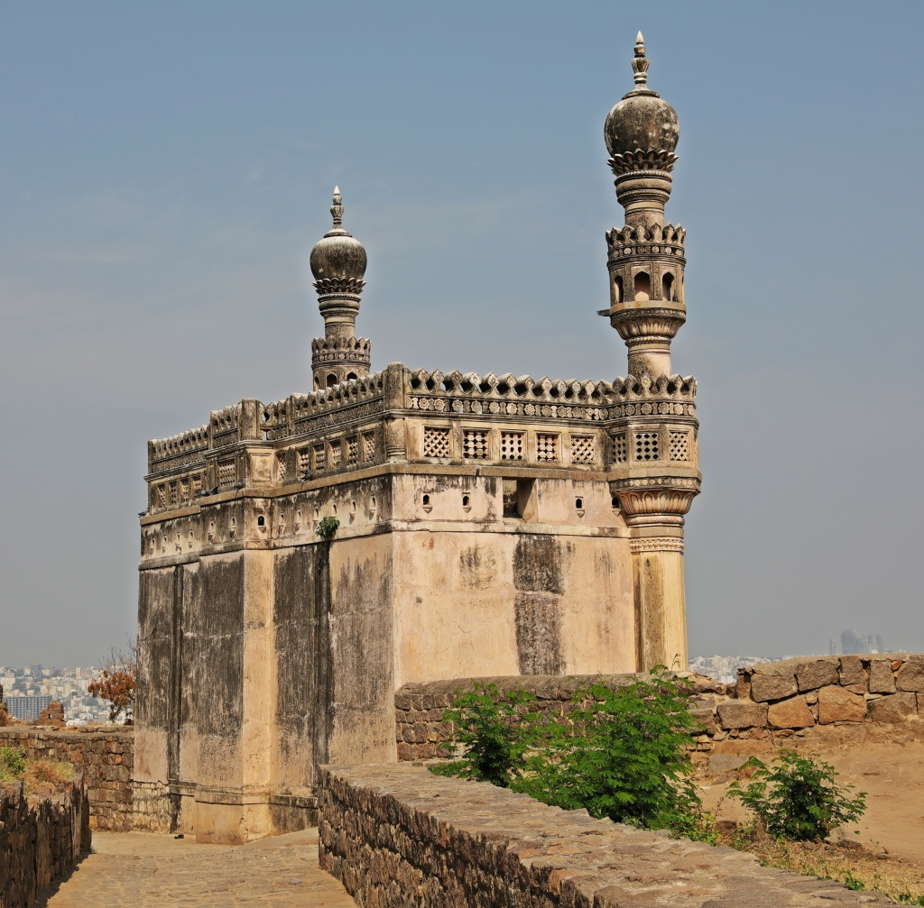 Mosque, Golkonda Fort, Hyderabad