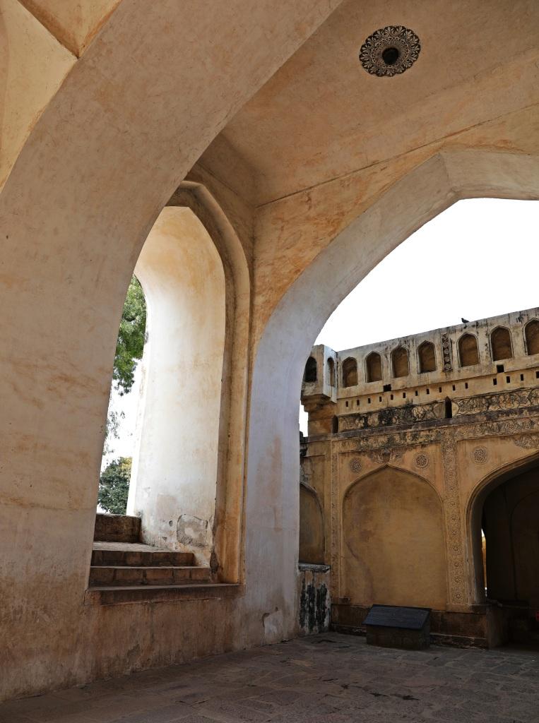 Clapping Portico, Golkonda Fort